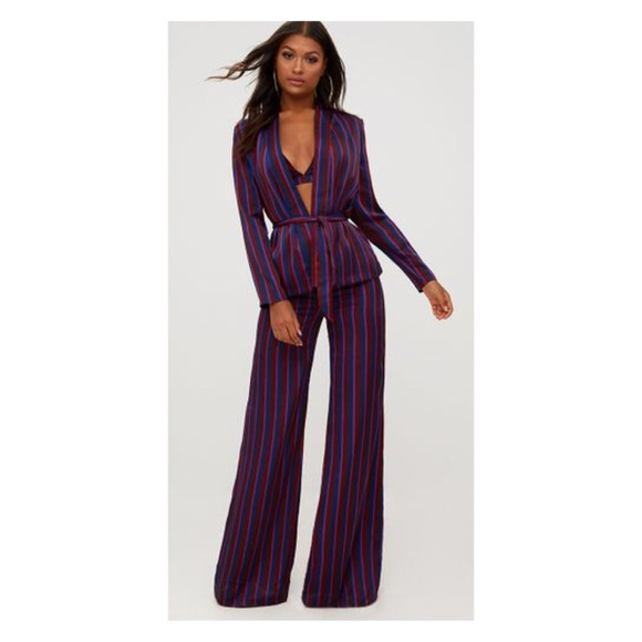 0503c685dd18 New PLT striped duster suit never worn sz 12